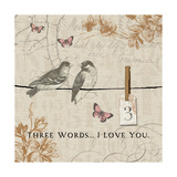 Words that Count III Giclee Print by  Pela