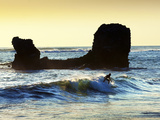 Playa El Tunco, El Salvador, Pacific Ocean Beach, Popular With Surfers, Great Waves Photographic Print by John Coletti