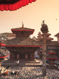Nepal, Kathmandu, Durbar Square (UNESCO Site) Photographic Print by Michele Falzone