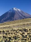Chile, Atacama Desert, San Pedro De Atacama, Ruta 27 CH Highway Photographic Print by Walter Bibikow