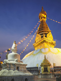 Swayambhunath Stupa (UNESCO World Heritage Site), Kathmandu, Nepal Photographic Print by Ian Trower