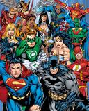 DC Comics - Cast Kunstdrucke