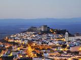 The Historical Village of Castelo De Vide at Twilight. Alentejo, Portugal Photographic Print by Mauricio Abreu