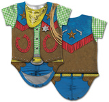 Infant: Cowboy Costume Romper Body