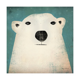 Polar Bear Giclée-tryk af Ryan Fowler