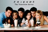 Friends - Milkshake Kunstdrucke