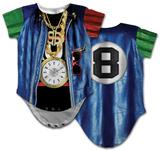 Infant: Old School Rapper Costume Romper Rompertje