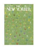 The New Yorker Cover - September 20, 1969 Giclee Print by Charles E. Martin