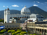 San Salvador, El Salvador, Plaza Libertad, Metropolitan Cathedral of the Holy Savior Photographic Print by John Coletti