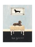 La Grrr Giclee Print by Emily Adams