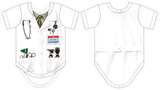 Infant: Ouchie Specialist Costume Romper T-shirts