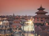 Nepal, Kathmandu, Patan (UNESCO Site), Durbar Square Photographic Print by Michele Falzone