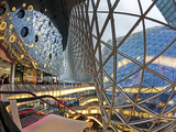 Glass and Escalator at the MyZeil Shopping Mall, Frankfurt, Hesse, Germany Photographic Print by Gavin Hellier