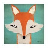 Fox Premium Giclee Print by Ryan Fowler