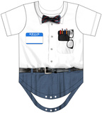 Infant: Nerd Costume Romper Strampelanzug