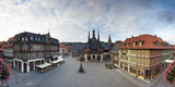 Markt Square and Guild Hall, Wernigerode, Harz Mountains, Saxony-Anhalt, Germany Photographic Print by Gavin Hellier
