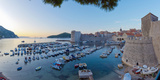 Croatia, Dalmatia, Dubrovnik, Old Town (Stari Grad), Old Harbour Photographic Print by Alan Copson