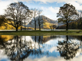 Buttermere Reflections, Cumbria, UK Photographic Print by Nadia Isakova