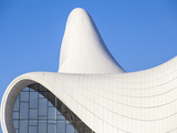 Azerbaijan, Baku, Heydar Aliyev Cultural Center - a Library, Museum and Conference Center Photographic Print by Jane Sweeney