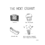 The Next Cronut - Cartoon Regular Giclee Print by Emily Flake