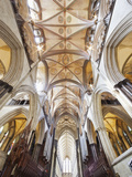 England, Hampshire, Salisbury, Salisbury Cathedral Photographic Print by Steve Vidler