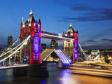 England, London, Southwark, Tower Bridge Photographic Print by Steve Vidler