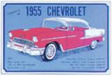 1955 Chevy Tin Sign Tin Sign