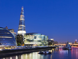 England, London, Southwark, the Shard and More London Develpment Photographic Print by Steve Vidler