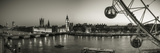 London Eye and Houses of Parliament, London, England, UK Photographic Print by Jon Arnold