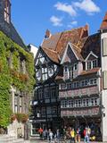 Market Square, Quedlinburg, UNESCO World Heritage Site, Harz, Saxony-Anhalt, Germany Photographic Print by Gavin Hellier
