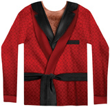 Long Sleeve: Smoking Jacket Costume Tee Shirts