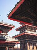 Nepal, Kathmandu, Durbar Square Photographic Print by Michele Falzone