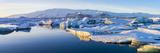 Icebergs, Jokulsarlon Glacier Lake, South Iceland Fotodruck von Peter Adams