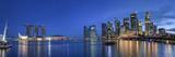 Singapore, Marina and City Skyline Photographic Print by Michele Falzone