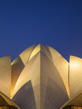 India, Delhi, New Delhi, Bahai House of Worship Know As the The Lotus Temple Photographic Print by Jane Sweeney