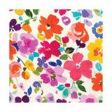 Bright Florals  I Premium Giclee Print by Hugo Wild
