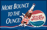 Pepsi More Bounce Tin Sign Tin Sign
