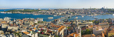 Elevated View Over the Bosphorus and Sultanahmet from the Galata Tower, Istanbul, Turkey, Europe Photographic Print by Gavin Hellier
