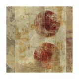 Caribbean Sunrise Square III Premium Giclee Print by Roque Silva