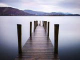 Jetty on Derwentwater, Cumbria, UK Photographic Print by Nadia Isakova