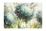 Hydrangea Field Giclee-tryk i høj kvalitet af Lisa Audit