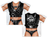 Mens Bondage Costume Tee T-shirts