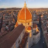 Duomo Santa Maria Del Fiore and Skyline Over Florence, Italy Fotografie-Druck von Peter Adams