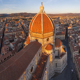 Duomo Santa Maria Del Fiore and Skyline Over Florence, Italy Photographic Print by Peter Adams