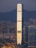 China, Hong Kong, West Kowloon, International Commerce Centre Building (ICC) Photographic Print by Steve Vidler