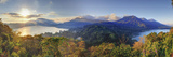 Indonesia, Bali, Central Mountains, Munduk, Danau Buyan and Danau Tablingan Lake Photographic Print by Michele Falzone