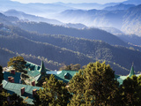India, Himachal Pradesh, Shimla, View of Mountains Photographic Print by Jane Sweeney