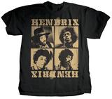 Jimi Hendrix - Squares T-Shirts