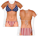 Womens: Beauty Queen Costume Tee Womens Sublimated