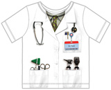 Toddler: Doctor Costume Tee Shirts
